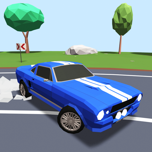 Polygon Drift: Endless Traffic Racing MOD APK 0.23