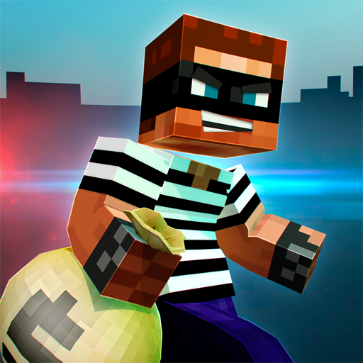 🚔 Robber Race Escape 🚔 Police Car Gangster Chase MOD APK 3.9.0