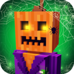 Scary Theme Park Craft: Spooky Horror Zombie Games MOD APK 1.11-minApi19