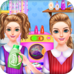 School Girls Weekend Home Washing Laundry games MOD APK 1.0