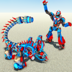 Scorpion Robot Transforming – Robot shooting games MOD APK 1.1