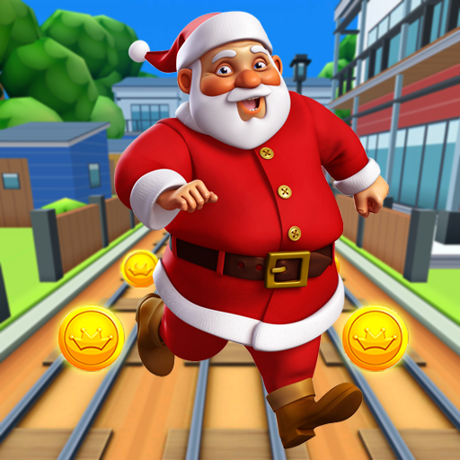 Subway Santa Xmas Run MOD APK 6.0