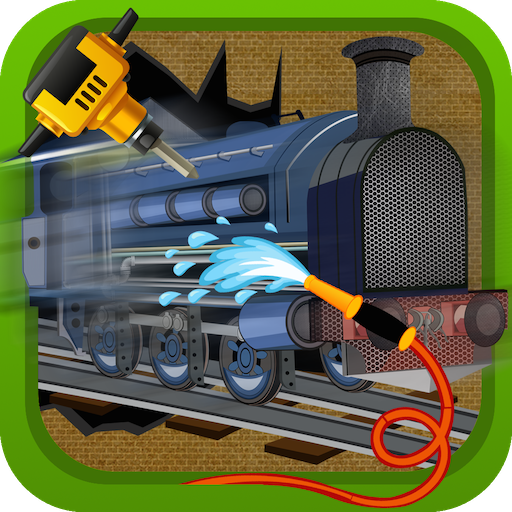 Train Repair Shop Salon MOD APK 1.0.4