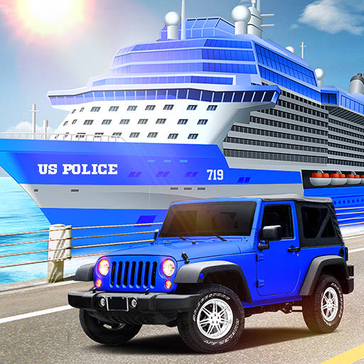 Transport Ship Police Car Game MOD APK 2.4