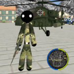US Army Stickman Rope Hero counter OffRoad MOD APK 1.4