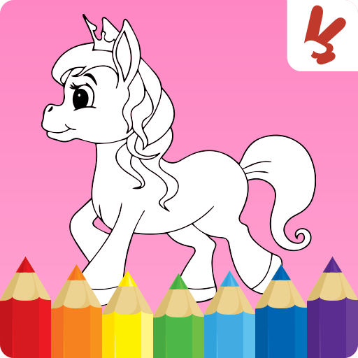 Unicorn coloring book for kids MOD APK 2.2