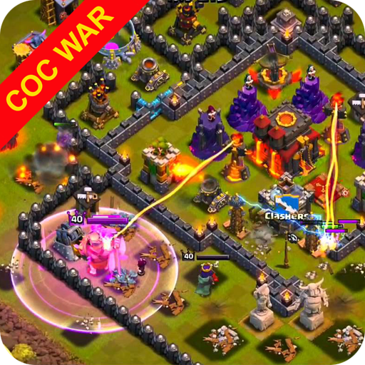 War layouts for Clash of Clans MOD APK 1.0.1