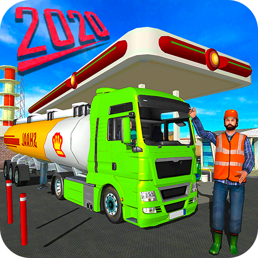 Big Oil Tanker Truck US Oil Tanker Driving Sim MOD APK 1.1