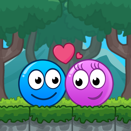 Blue and Pink Ball Lovers MOD APK 2