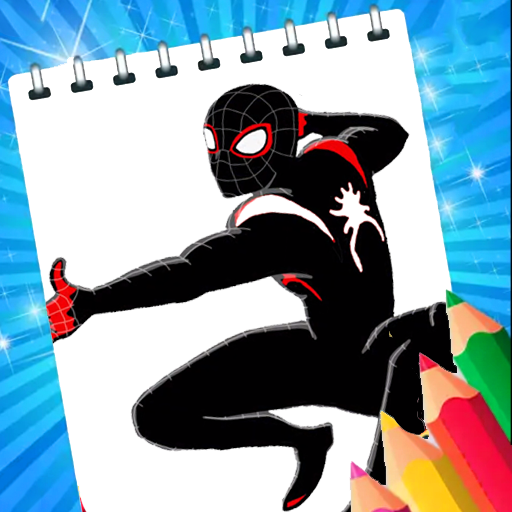 Coloring Book For Spider : Coloring game womаn MOD APK 5.0.0