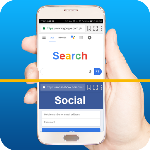 Dual Browser: Fast Secure Private Browser MOD APK 1.8