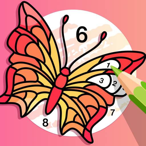 Fun Coloring Paint by Number Color Game for Adults MOD APK 1.0.9