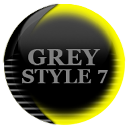 Grey Icon Pack Style 7 ✨Free✨ MOD APK 4.0