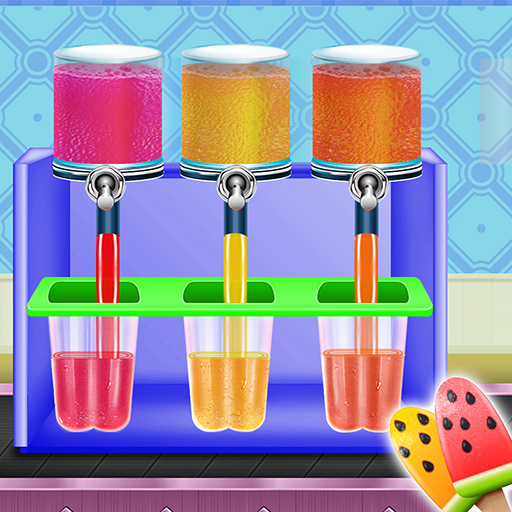 Ice Popsicle Factory: Frozen Ice Cream Maker Game MOD APK 1.0.3