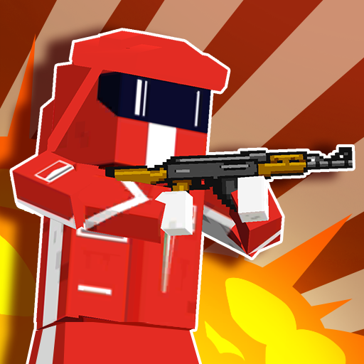 Pixel Battle City War – pixel block games MOD APK 1.02