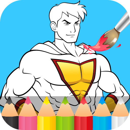Superhero Coloring Pages MOD APK 1.3.0