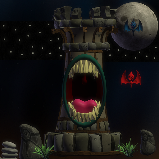 Towers Eat Monsters MOD APK 0.9