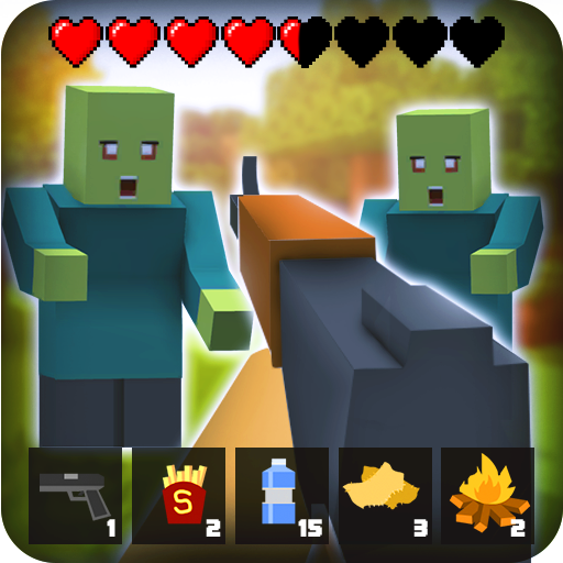 🧟 Zombie Craft Survival 3D: Free Shooting Game MOD APK 31.5