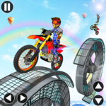 Bike Stunt Impossible Tracks MOD APK 1.0.12