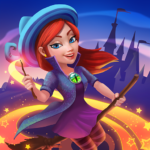 Charms of the Witch: Magic Mystery Match 3 Games MOD APK 2.13.9141