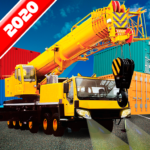 Crane Real Simulator Fun Game 2020 MOD APK 1.06