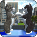 Cute Cat And Puppy World MOD APK 1.0.5.8
