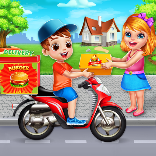 Fast Food Delivery Boy: Burger Maker Games MOD APK Varies with device