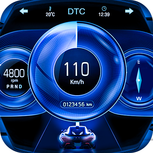 GPS Speedometer: Car Dashboard OBD2 Speed Limit MOD APK Varies with device
