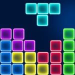 Neon Block Break Puzzle MOD APK 1.5.7