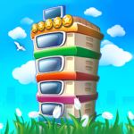 Pocket Tower: Building Game & Megapolis Kings MOD APK 3.12.7