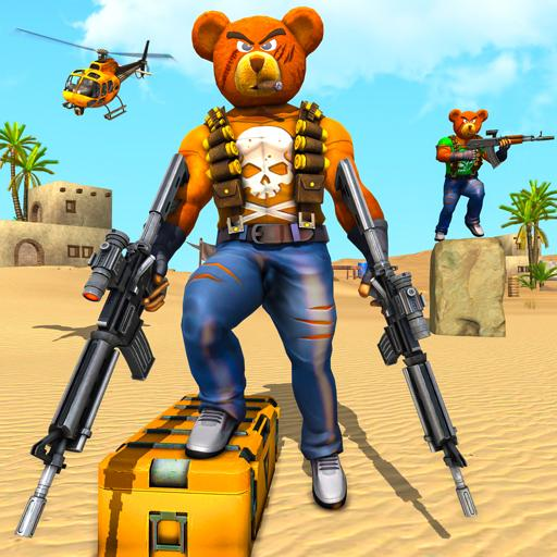 Teddy Bear Gun Strike Game: Counter Shooting Games MOD APK 0.2