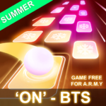 BTS Hop: KPOP IDOL Rush Dancing Tiles Game 2019! MOD APK1.0.0.2