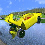 Extreme Crash Car Driving MOD APK 1.045