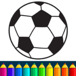 Football coloring book game MOD APK 13.9.6