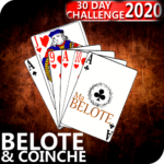 Free French Belote & Coinche – 30 days Challenge MOD APK 1.15