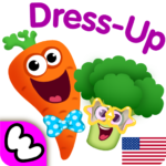 Funny Food DRESS UP games for toddlers and kids!😎 MOD APK 1.3.0.75