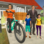 Working Mom Newspaper Girl Family Game MOD APK 1.16