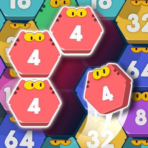 Cat Cell Connect – Merge Number Hexa Blocks MOD APK