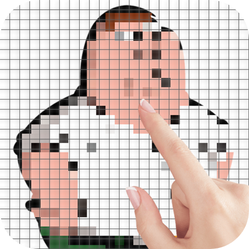 Family Man Characters Color by Number – Pixel Art MOD APK