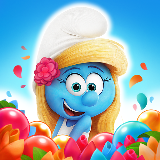 Smurfs Bubble Shooter Story 3.03.040105 Software For PC Download