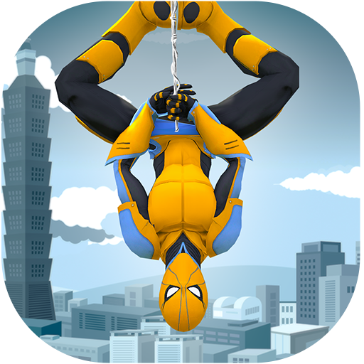 Amazing Spider Rope Hero- Vice Town Gangster Crime MOD APK