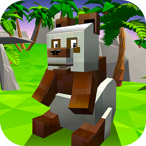Blocky Panda Simulator – be a bamboo bear! MOD APK