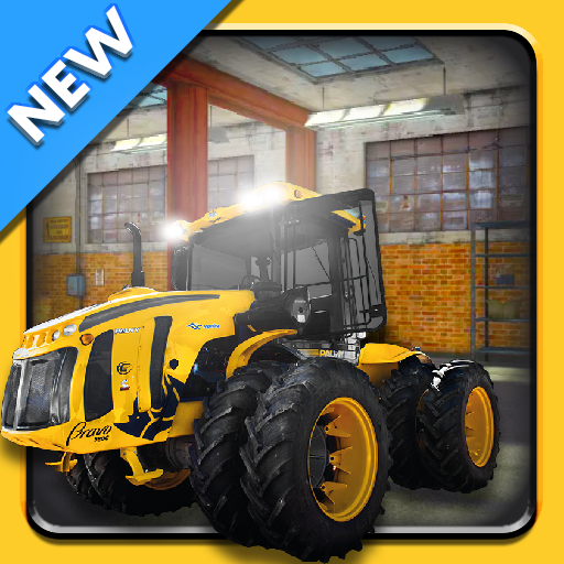Crane Simulation and Dozer Simulation Game MOD APK