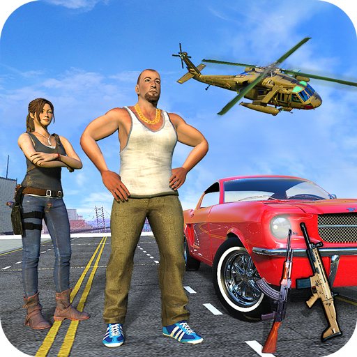 Crime City Car Theft : Vegas Gangster Games MOD APK