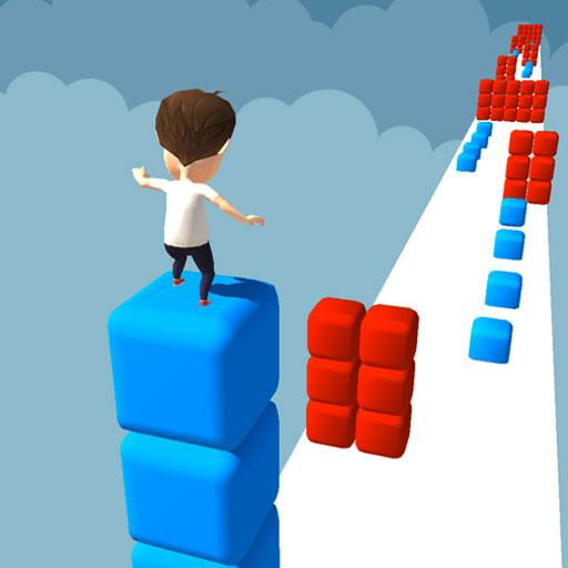 Cube Tower Stack Surfer 3D – Race Free Games 2020 MOD APK