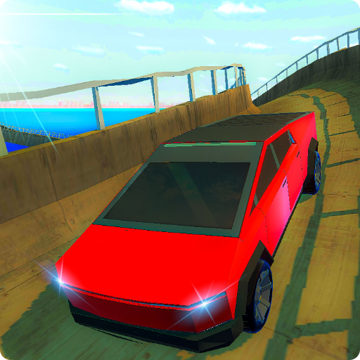 Cyber Truck Impossible Tracks MOD APK