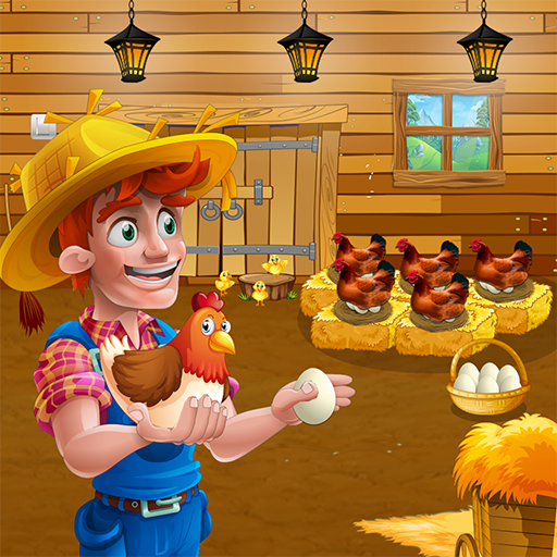 Eggs Factory: Poultry Chicken Farming Business MOD APK