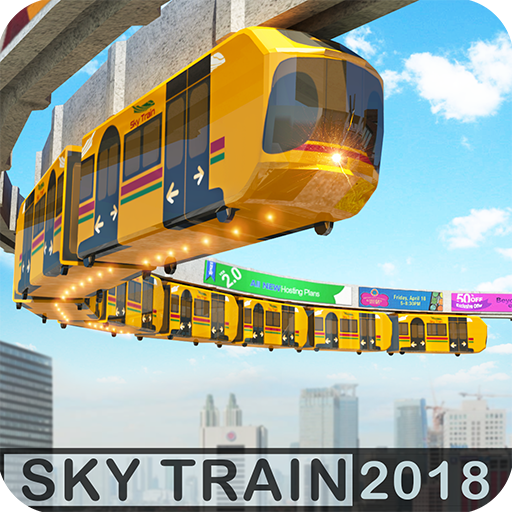 Elevated Train Driving Simulator: Sky Tram Driver MOD APK