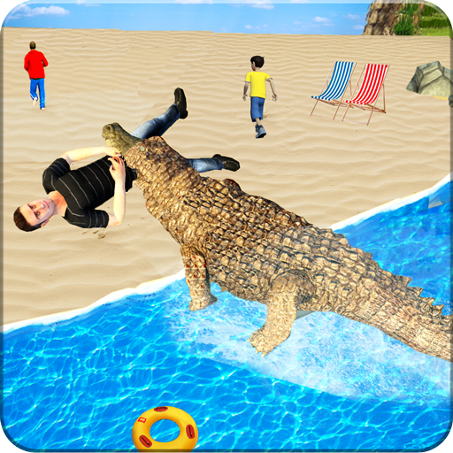 Hungry Crocodile Simulator Attack MOD APK