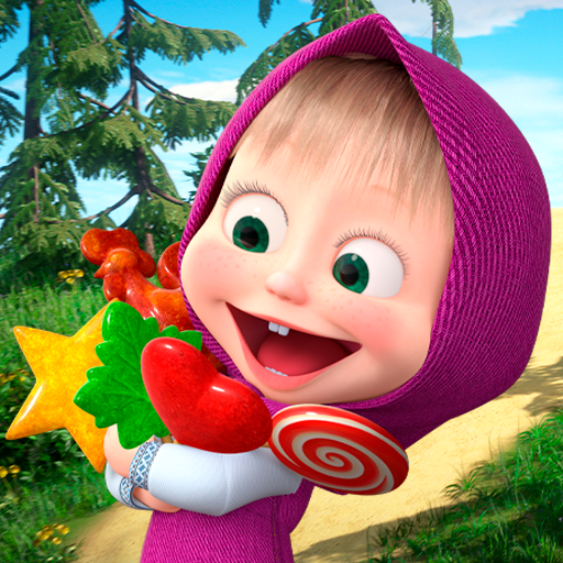 Masha and the Bear: Running Games for Kids 3D MOD APK
